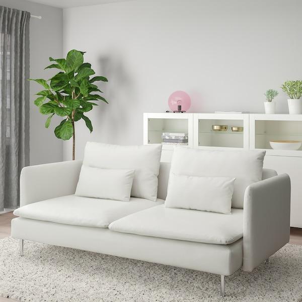 SÖDERHAMN 3:n istuttava sohva Finnsta valkoinen IKEA