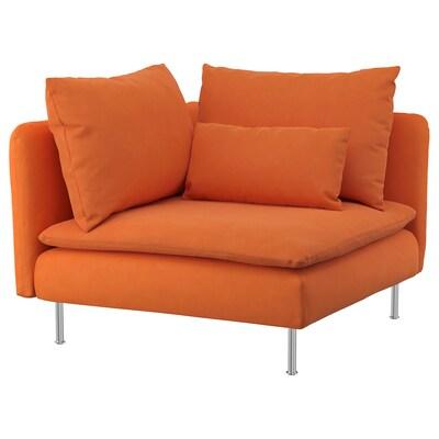 SÖDERHAMN kulmaosa Samsta oranssi 99 cm 99 cm 83 cm 63 cm 48 cm 40 cm