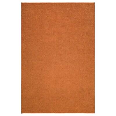 SPORUP Matto, matala nukka, ruskea, 200x300 cm