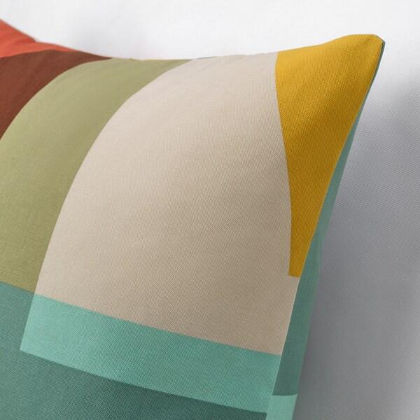 STENMÄTARE Tyynynpäällinen, monivärinen, 50x50 cm