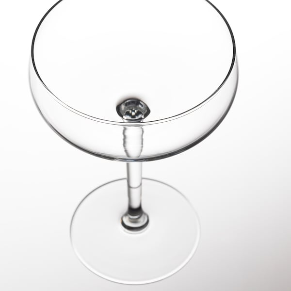 STORHET laakea samppanjalasi kirkas lasi 15.5 cm 30 cl
