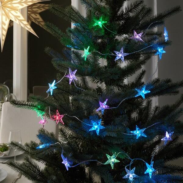 STRÅLA Led-valosarja, 24 lamppua, ulkokäyttöön/vilkkuva tähti