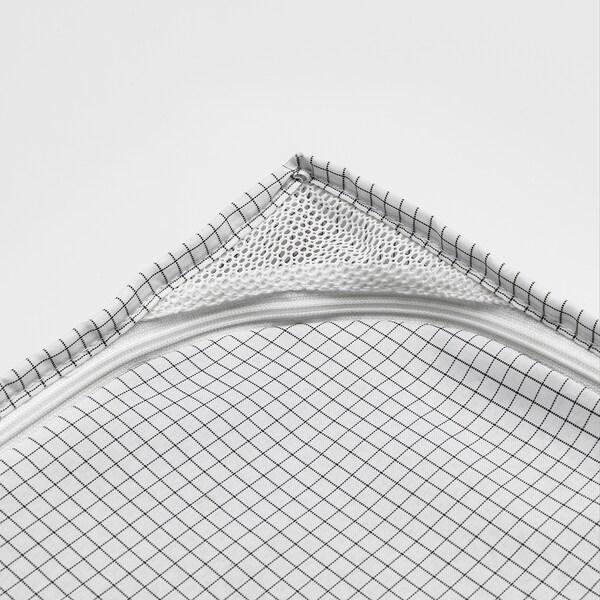 STUK säilytyslaukku valkoinen/harmaa 34 cm 51 cm 28 cm