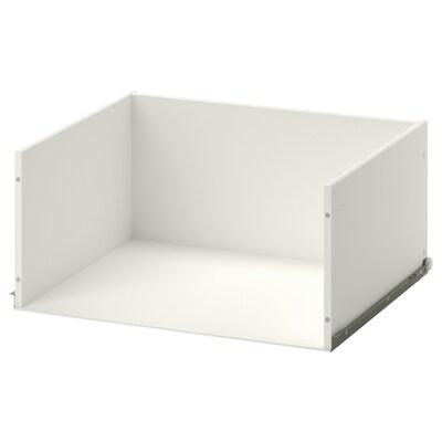STUVA GRUNDLIG etusarjaton laatikko valkoinen 32 cm