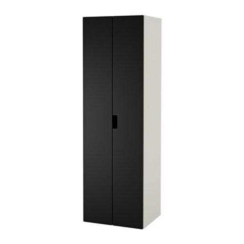 STUVA Vaatekaappi  valkoinen musta  IKEA