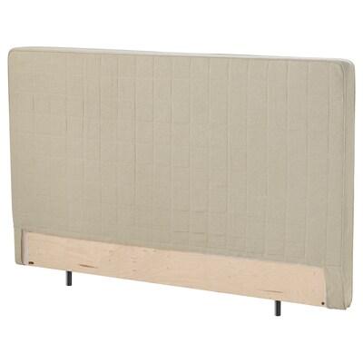 STUVLAND Sängynpääty, luonnonvärinen, 180 cm