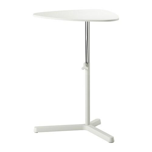 SVARTÅSEN Tietokonepöytä  valkoinen  IKEA