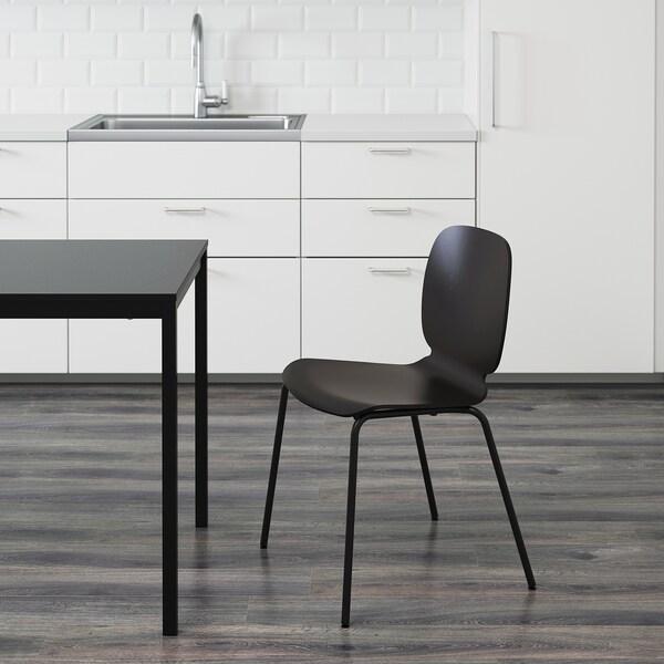 SVENBERTIL Tuoli, musta/Broringe musta
