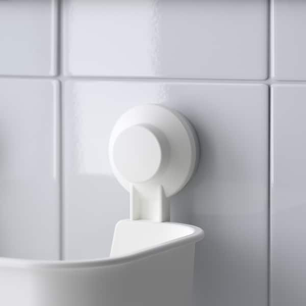 TISKEN imukuppilaatikko valkoinen 28 cm 17 cm 17 cm 3 kg