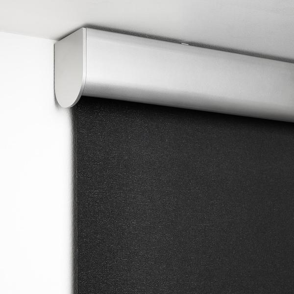 TRETUR Pimentävä rullaverho, tummanharmaa, 120x195 cm