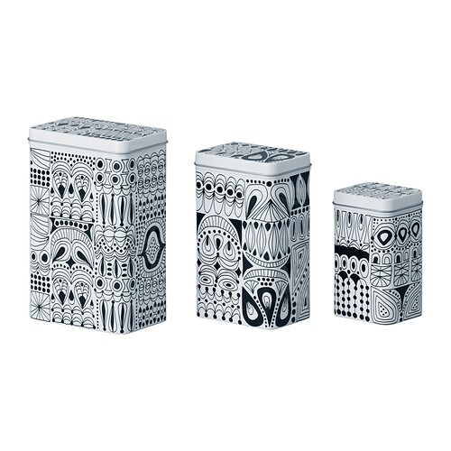 Ikea peltipurkki