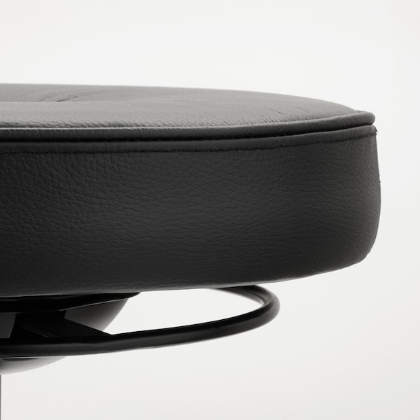 TROLLBERGET Aktiivinen istumis-/seisomistuki, Glose musta