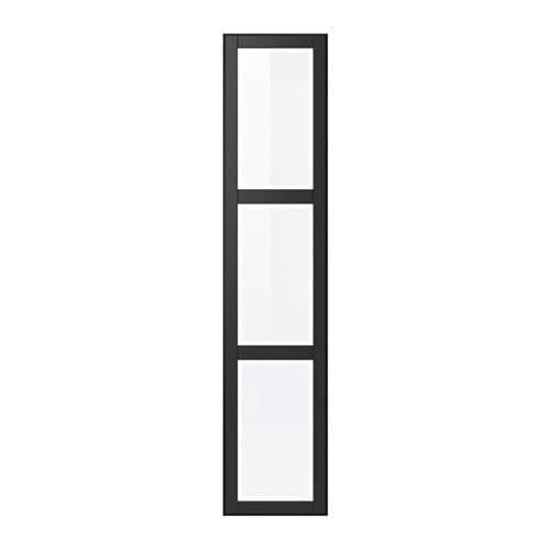 UNDREDAL Ovi + saranat  50×229 cm, sarana, pehmeästi sulkeutuva  IKEA