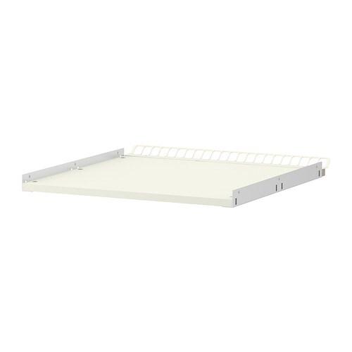 UTRUSTA Hyllylevy, vahvistettu+ilmastoitu  valkoinen  IKE