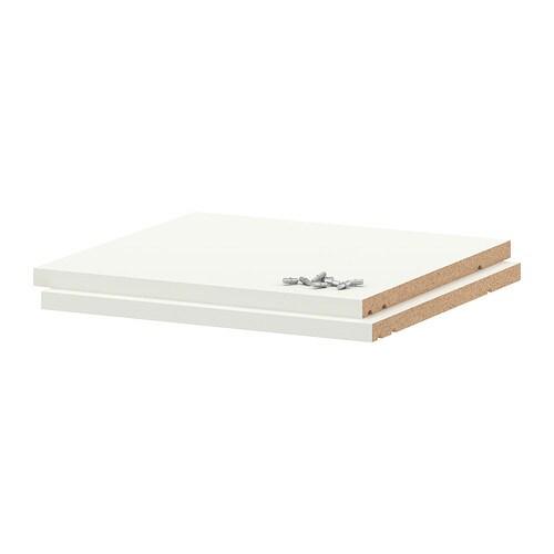 UTRUSTA Hyllylevy  valkoinen, 40×37 cm  IKEA