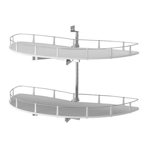 UTRUSTA Kulmapöytäkaapin sisuste, ulos ved  IKEA