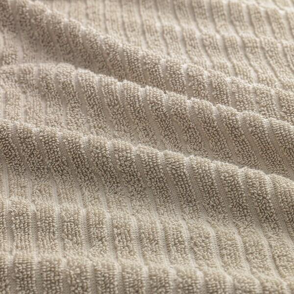 VÅGSJÖN Käsipyyhe, vaalea beige, 40x70 cm