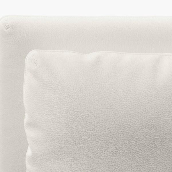 VALLENTUNA Vuodesohvamoduuli+selkänojat, Murum valkoinen