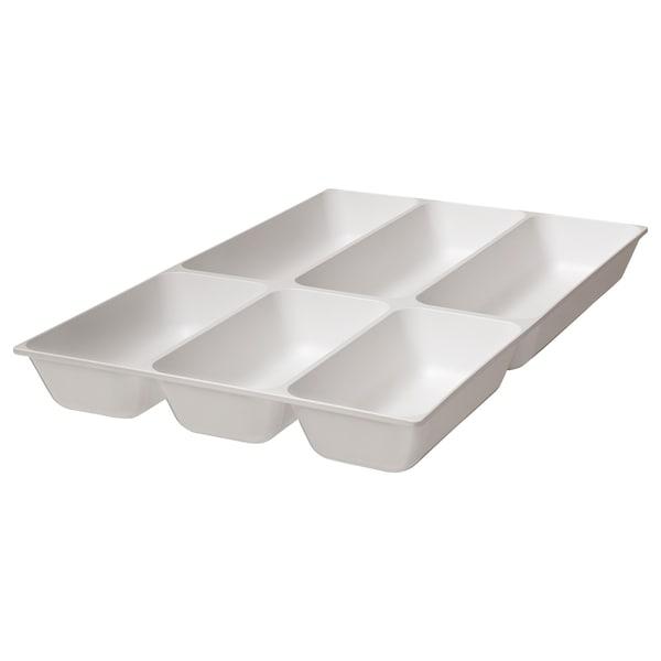 VARIERA Aterinlaatikko, valkoinen, 32x50 cm