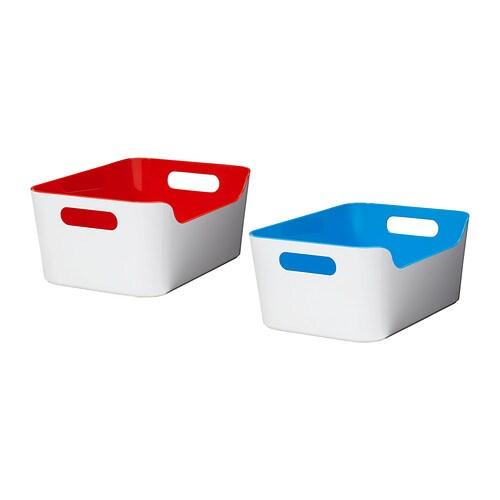 VARIERA Laatikko  erilaisia kirkkaita värejä  IKEA