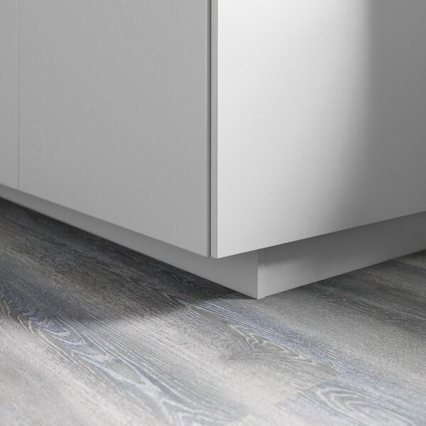 VEDDINGE Sokkeli, harmaa, 220x8 cm