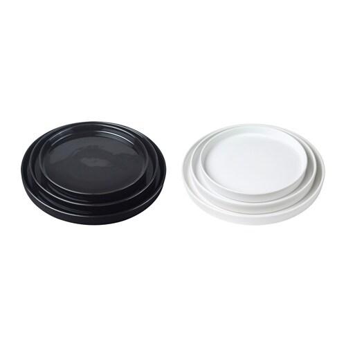 VIKTIGT Tarjoiluvati, 3 kpl IKEA Helppo yhdistää muiden astioiden ja materiaalien kanssa.