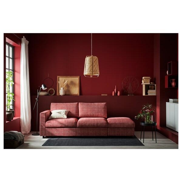 VIMLE 3:n istuttava sohva pääty auki/Dalstorp monivärinen 83 cm 68 cm 227 cm 98 cm 6 cm 15 cm 68 cm 214 cm 55 cm 48 cm