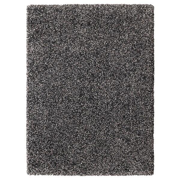 VINDUM matto, korkea nukka tummanharmaa 180 cm 133 cm 30 mm 2.39 m² 4180 g/m² 2400 g/m² 26 mm