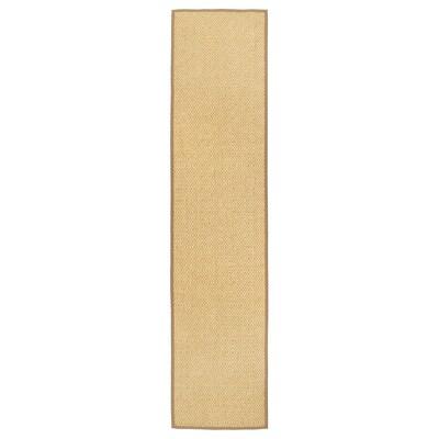 VISTOFT Matto, kudottu, luonnonvärinen, 80x350 cm