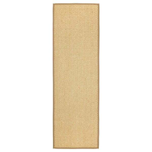 VISTOFT Matto, kudottu, luonnonvärinen, 80x250 cm