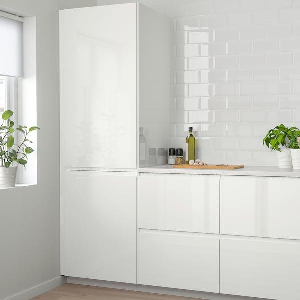VOXTORP ovi korkeakiilto valkoinen 29.6 cm 80.0 cm 30.0 cm 79.7 cm 2.1 cm