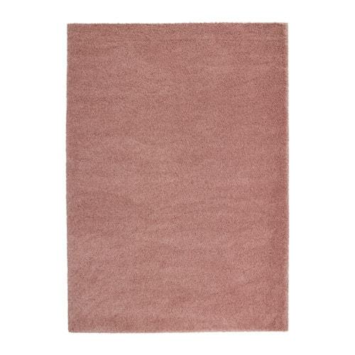 Dum tapis poils hauts 170x240 cm ikea - Tapis rose ikea ...
