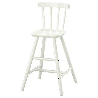 AGAM chaise junior blanc 41 cm 43 cm 79 cm 28 cm 29 cm 52 cm