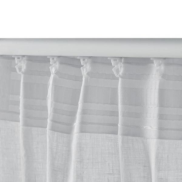 AINA rideaux, 2 pièces blanc 300 cm 145 cm 2.00 kg 4.35 m² 2 pièces