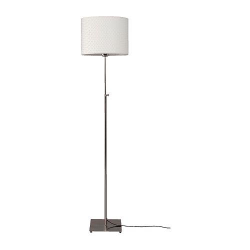 al ng lampadaire nickel blanc ikea. Black Bedroom Furniture Sets. Home Design Ideas