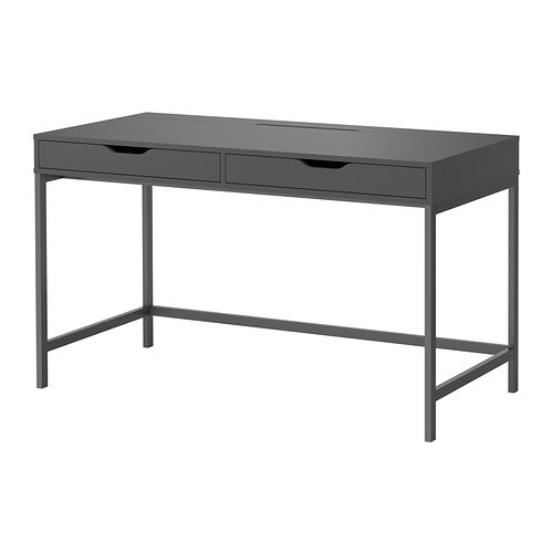 alex bureau gris ikea. Black Bedroom Furniture Sets. Home Design Ideas