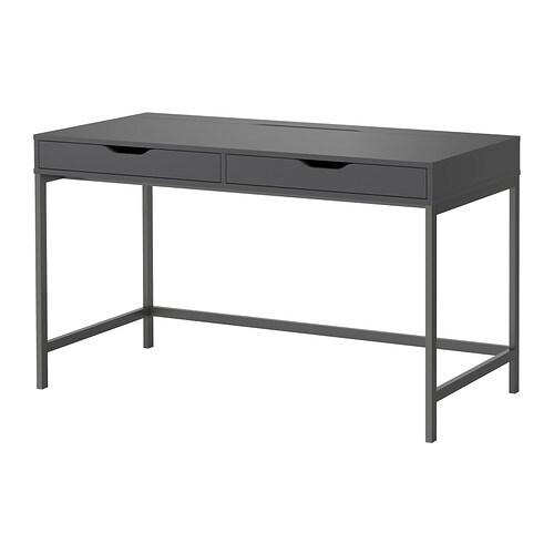 alex bureau gris ikea. Black Bedroom Furniture Sets. Home Design Ideas