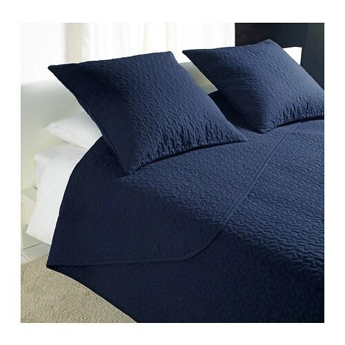 alina couvre lit et 2 housses coussin 260x280 65x65 cm. Black Bedroom Furniture Sets. Home Design Ideas