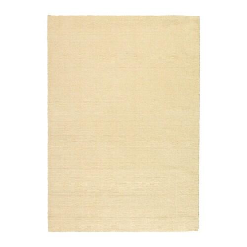 Almsted tapis poils ras 140x200 cm ikea - Tapis blanc ikea ...