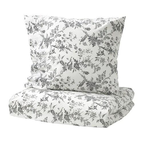 alvine kvist housse de couette et 2 taies 240x220 65x65 cm ikea. Black Bedroom Furniture Sets. Home Design Ideas
