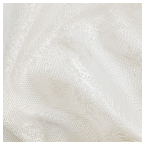 ALVINE SPETS rideaux filet, 2 pièces blanc cassé 300 cm 145 cm 0.60 kg 4.35 m² 2 pièces