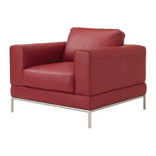 fauteuils cuir et ou cro te de cuir ikea. Black Bedroom Furniture Sets. Home Design Ideas