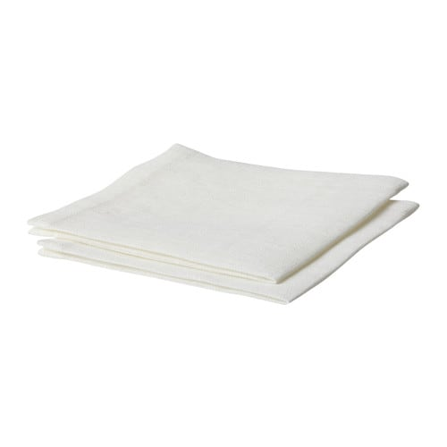 Arja serviette de table ikea - Serviette de table blanche pas cher ...