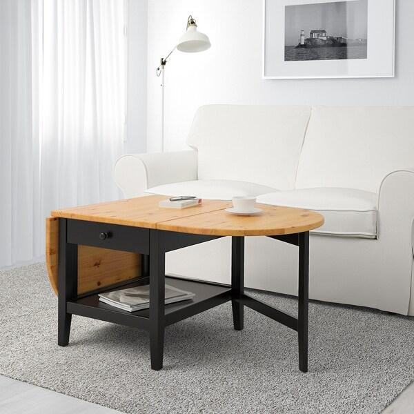 Une table basse à rabats