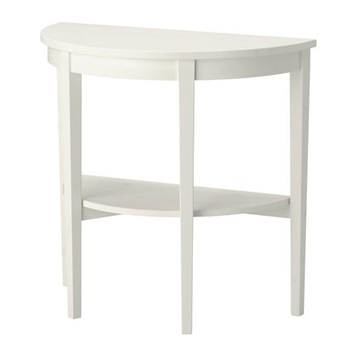 Arkelstorp table demi lune blanc ikea for Mesas de recibidor ikea