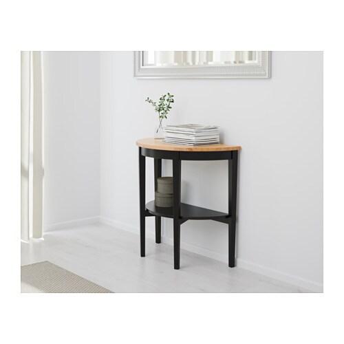 arkelstorp table demi lune noir ikea. Black Bedroom Furniture Sets. Home Design Ideas