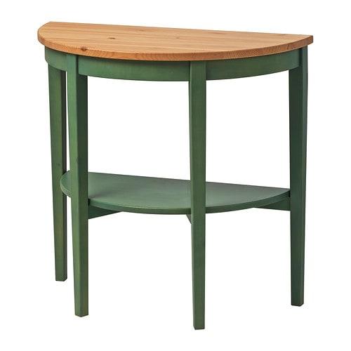 arkelstorp table demi lune vert ikea