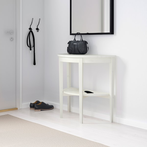 Table Demi Lune Arkelstorp Blanc