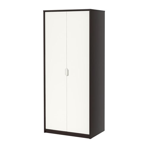 askvoll armoire brun noir blanc ikea. Black Bedroom Furniture Sets. Home Design Ideas
