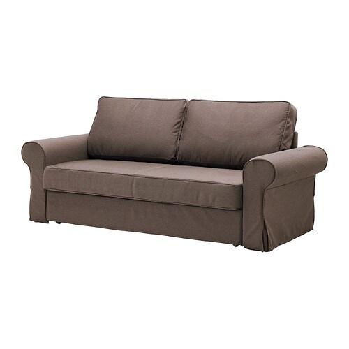 backabro housse de convertible 3places jonsboda brun. Black Bedroom Furniture Sets. Home Design Ideas